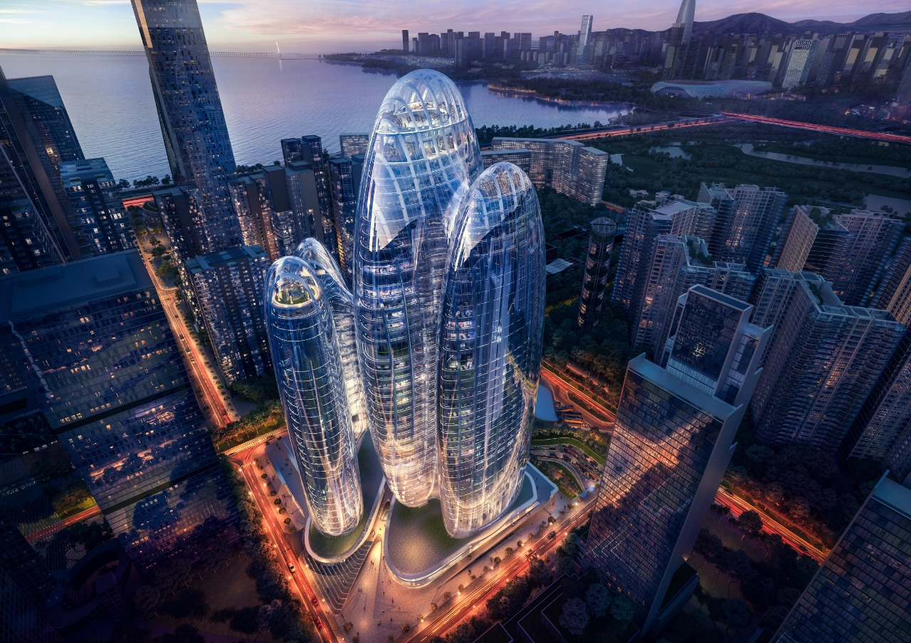 Zaha Hadid Architects построит «аморфный» бизнес-центр